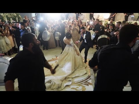 GRAND ARAB WEDDING ENTRANCE IN SYDNEY WITH CDARZ ENTERTAINME