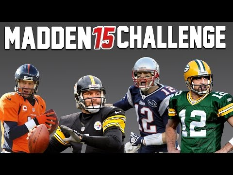 Creating A Team of Quarterbacks! - Madden NFL Challenge.