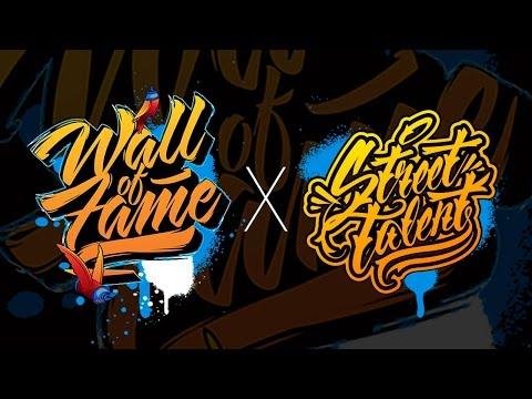 wall of fame 2016 por Street Talent