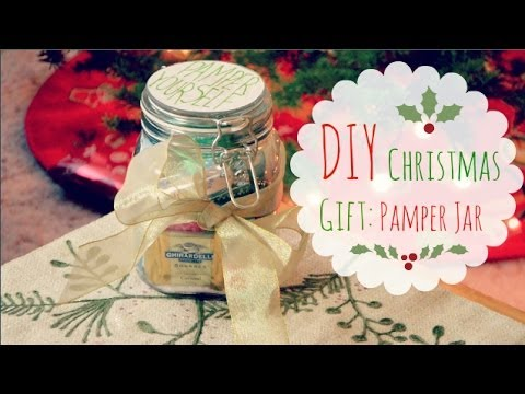 Diy christmas gift idea pamper jar youtube solutioingenieria Gallery