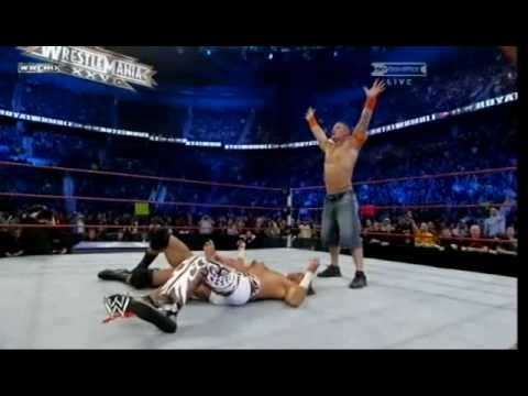 John Cena double you can't see me!!!