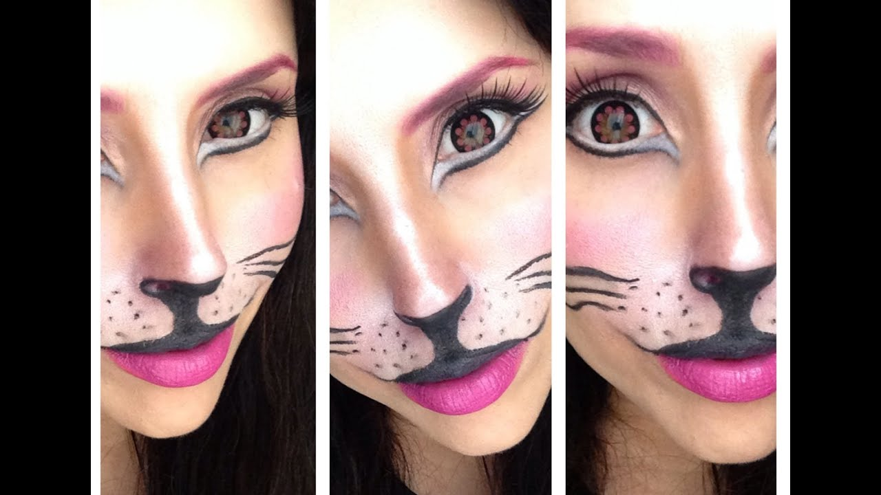 spesso CAT Make-up Tutorial - Carnevale 2014 - YouTube JB67
