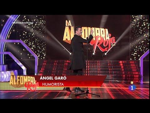 "Ángel Garó - ""La Alfombra Roja Palace"" La1 de tve - 28 Mar 2015"