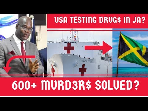 600 MVRD3R$ Solved YEARLY In Jamaica? + H0$P!TAL SHIP From USA In Jamaica TESTING New DRVG$?