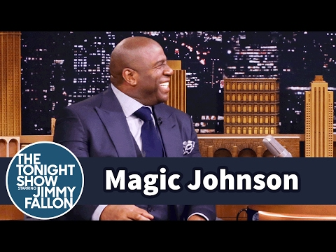 Magic Johnson on Working with Obama and Getting the Lakers Back on Top