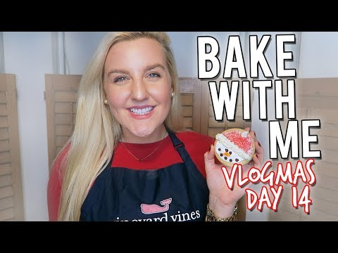 VLOGMAS DAY 14: BAKE WITH ME!! HOLIDAY COOKIES || Kellyprepster