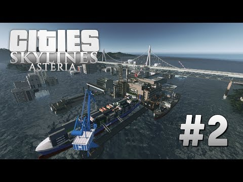 Cities Skylines Asteria [2] The Ruins of the Old World |