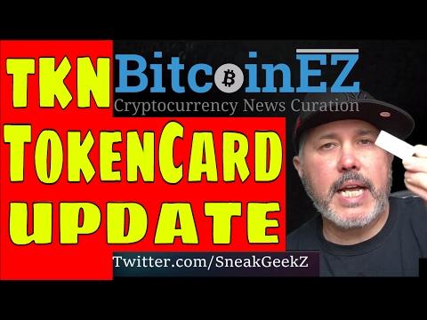 Tokencard io TKN ICO Contract Updated... liqui.io Exchange Trading Live