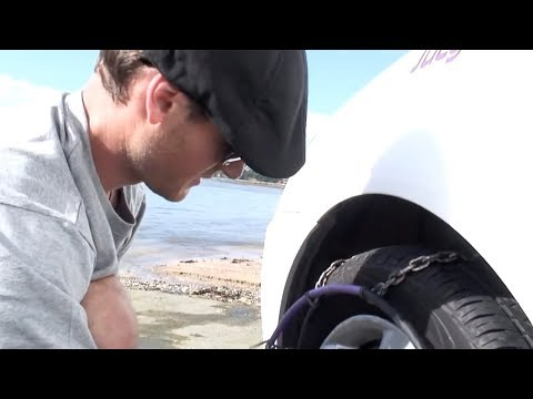 Step By Step Tutorial On Fitting Snow Chains By JUCY Rentals