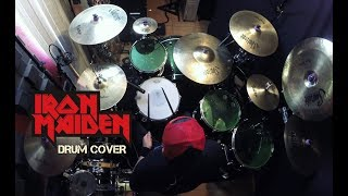 Iron Maiden - Aces High - Drum Cover