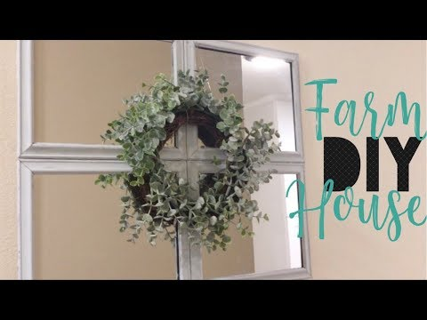 DIY FARMHOUSE DECOR || DIY DOLLAR TREE || FARMHOUSE DECOR 2019