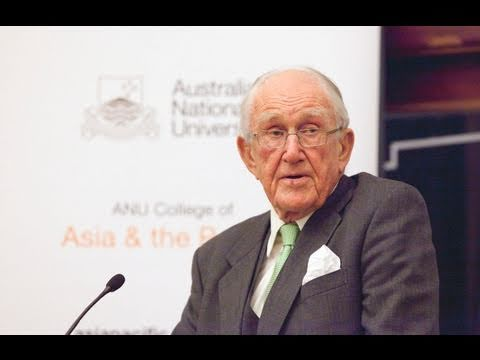 The Hon Malcolm Fraser speaks at Asia Pacific Week 2011, ANU