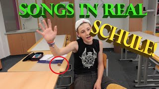 5 SONGS IN REAL LIFE 2016 | SCHULE!