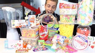 ich MISCHE alle Süßigkeiten zu EINEM Bonbon  zusammen 😱 | Julienco