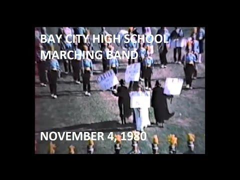 Bay City High School Band 1980