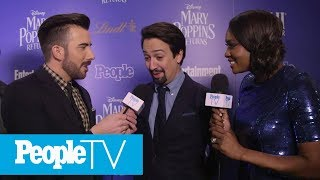 Lin-Manuel Miranda Discusses Excitement About Mary Poppins Returns | PeopleTV