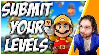 🔴 SUPER MARIO MAKER | 100 Mario Expert + (Viewer Levels)
