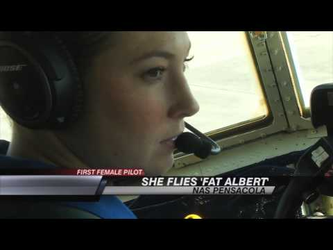 "Blue Angels ""Fat Albert""  Female Pilot"