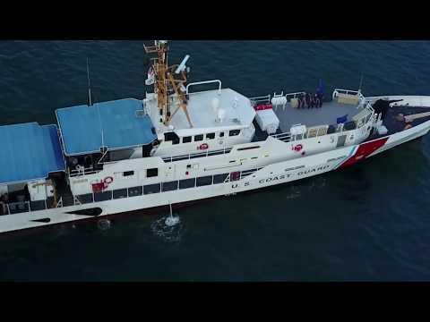 Coast Guard Cutter Heriberto Hernandez maintains maritime presence