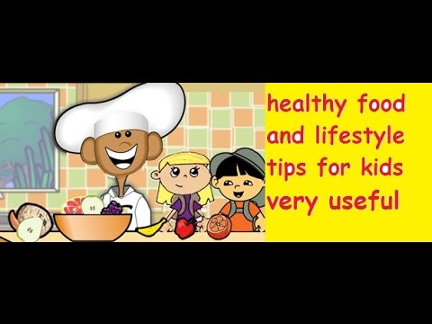healthy eating and lifestyle tips for kids, precious tips for children health