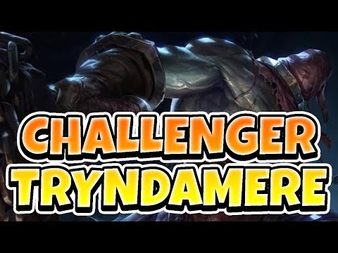 HIGH CHALLENGER TRYNDAMERE!! HITTING LP PEAK AGAIN - League of Legends Full Gameplay thumbnail
