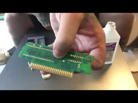 Best way to clean your SNES games