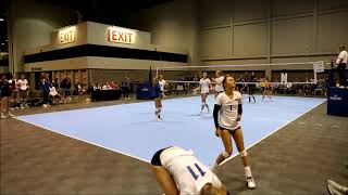 Hannah Paine Full Match Footage 2019 AAU Nationals