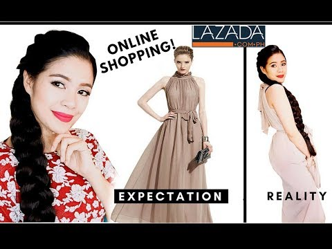 Expectations Vs Reality- Online Shopping- Korean Dresses -Lazada-Beautyklove