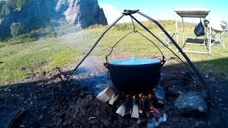 Камчатка: часть 3 - Уха на берегу Тихого океана