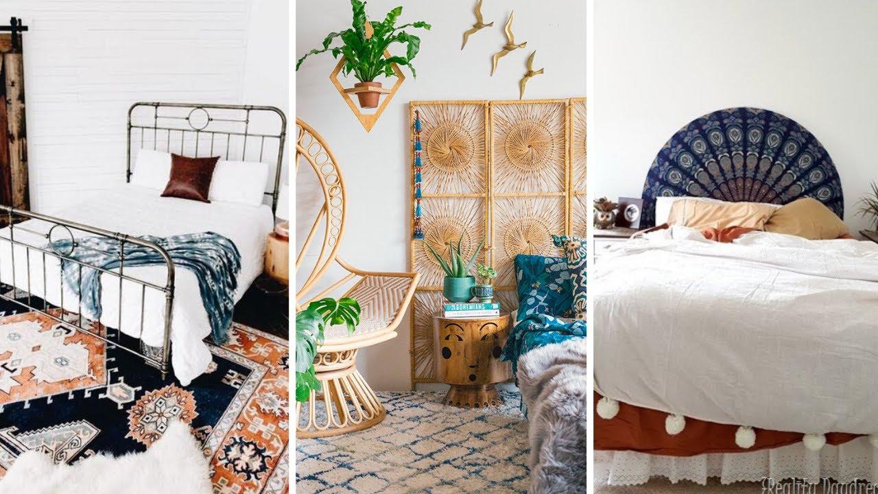 10 Boho Bedroom Decor Ideas For Small Bedroom Youtube