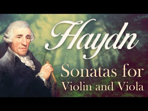 Haydn: Six Sonatas for Violin and Viola