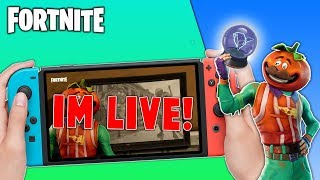 🔴 Pro Fortnite Nintendo Switch Player // Pro solo Matches // Rift-To-Go + Tips!!