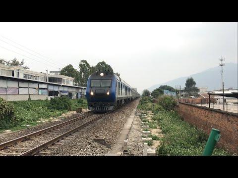 三茂鐵路肇慶學院道口片段合輯