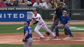 TOR@CWS: Gillaspie drills a grand slam in the 1st