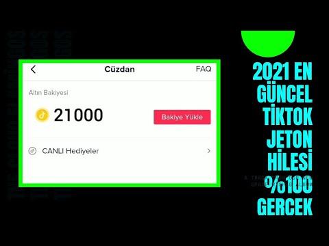Tiktok 21 000 Jeton Hilesi %100 Gerçek Android-ios