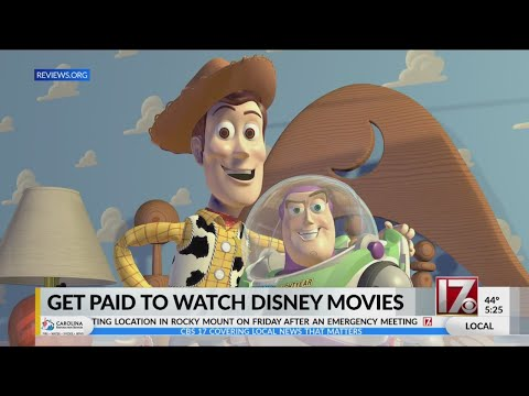 Andi and Kenny  - You Can Get Paid to Watch Disney Movies