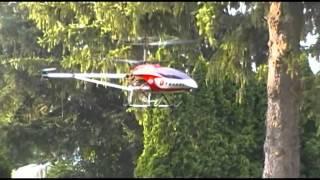GT-8006 and Heli-Max Novus 200 flight practice.