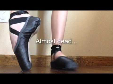 how to make your pointe shoes bigger