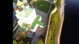 Pskov kremlin. Псковский Кром(Video taken in Pskov city. In the focus: Velikaya river, Pskov kremlin (Krom), 2015-05-10T19:46:45.000Z)