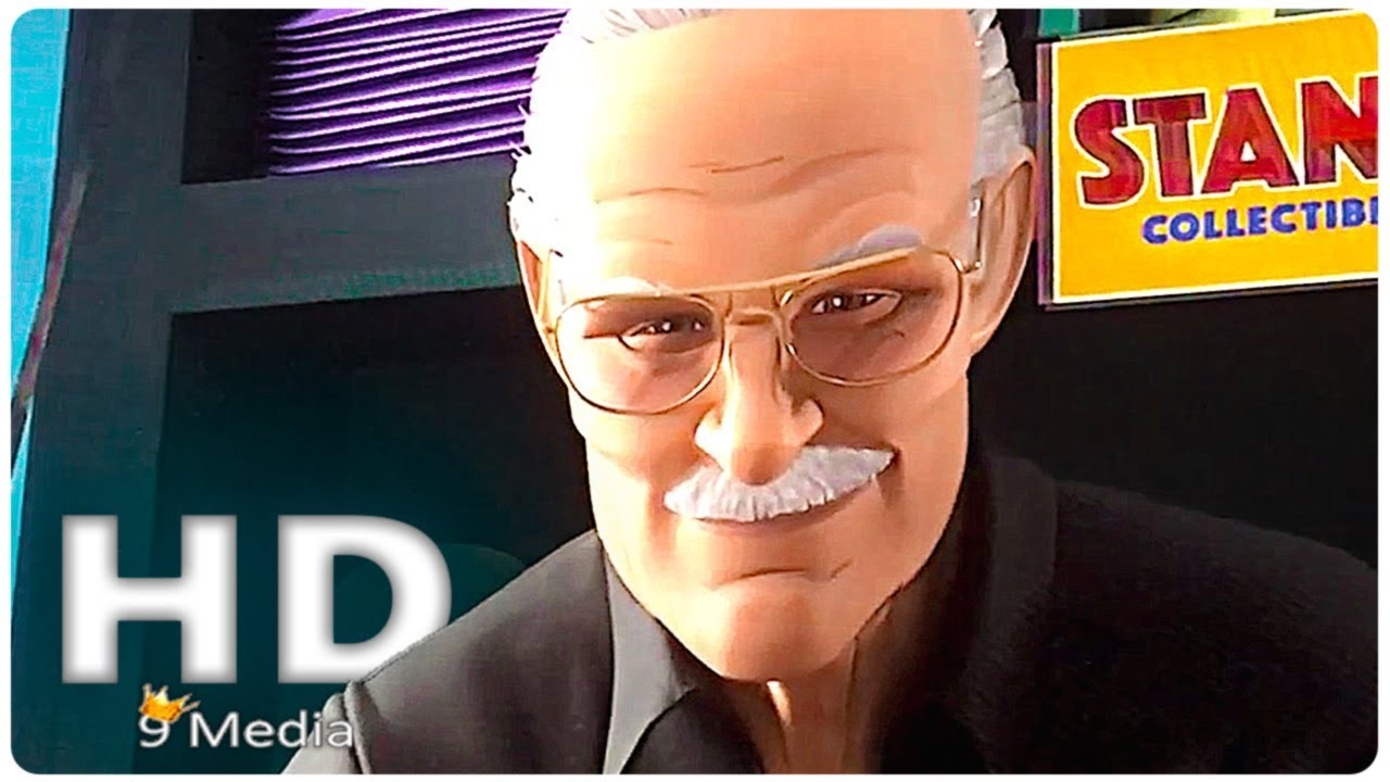 Spider Man Into The Spider Verse Stan Lee Cameo 2018 New Superhero Animation Movies Hd Youtube