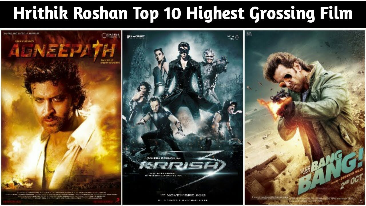 Download Top 10 Hrithik Roshan Highest Grossing Films List