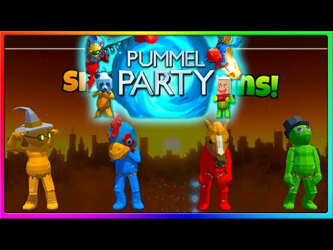 FASTEST FIRST GOBLET EVER | Pummel Party Gameplay With The Crew