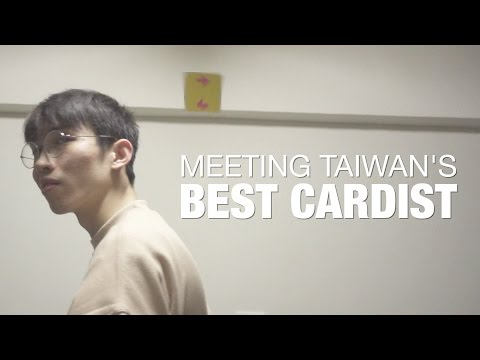 Meeting One Of Taiwan's Best Cardistry Masters.