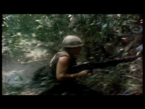 Vietnam War, 1970: CBS camera rolls as platoon comes under f