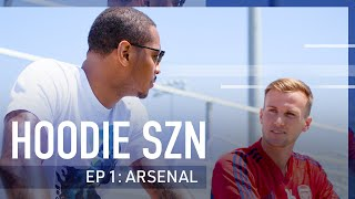 Locked in with Arsenal's Rob Holding and Carmelo Anthony | Hoodie SZN  | ICC 2019