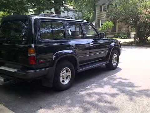 1996 toyota land cruiser falls church va youtube. Black Bedroom Furniture Sets. Home Design Ideas