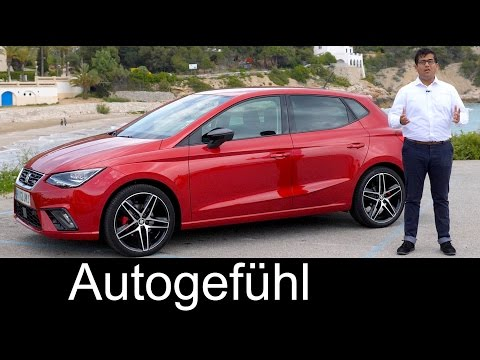 Seat Ibiza FR 1.5 FULL REVIEW all-new neu generation test 2017 - Autogefühl