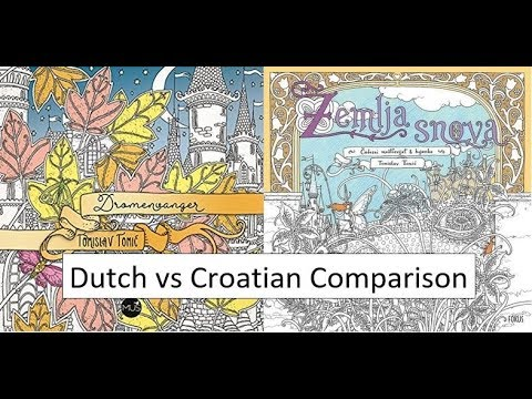 Dromenvanger and Zemlja Snova | Comparison of the Dutch and Croatian editions