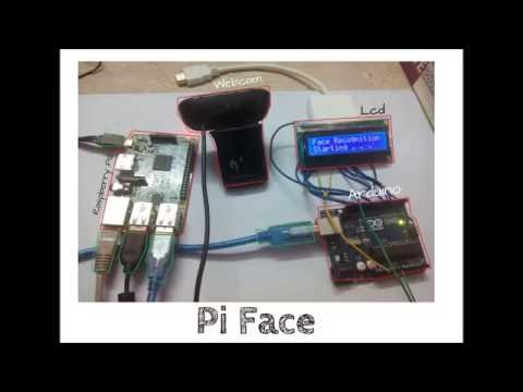 Pi Face - Face Recognition System built On Raspberry Pi and Arduino