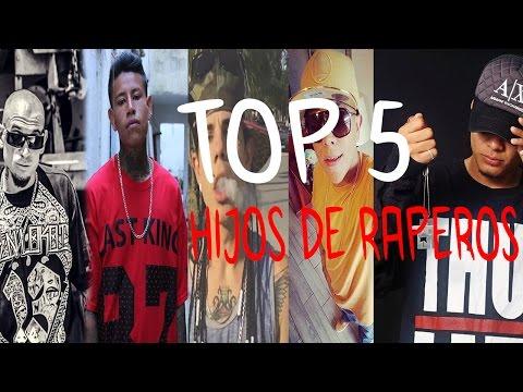 Top 5 Hijos De Raperos  Mexicanos   Terco Wan